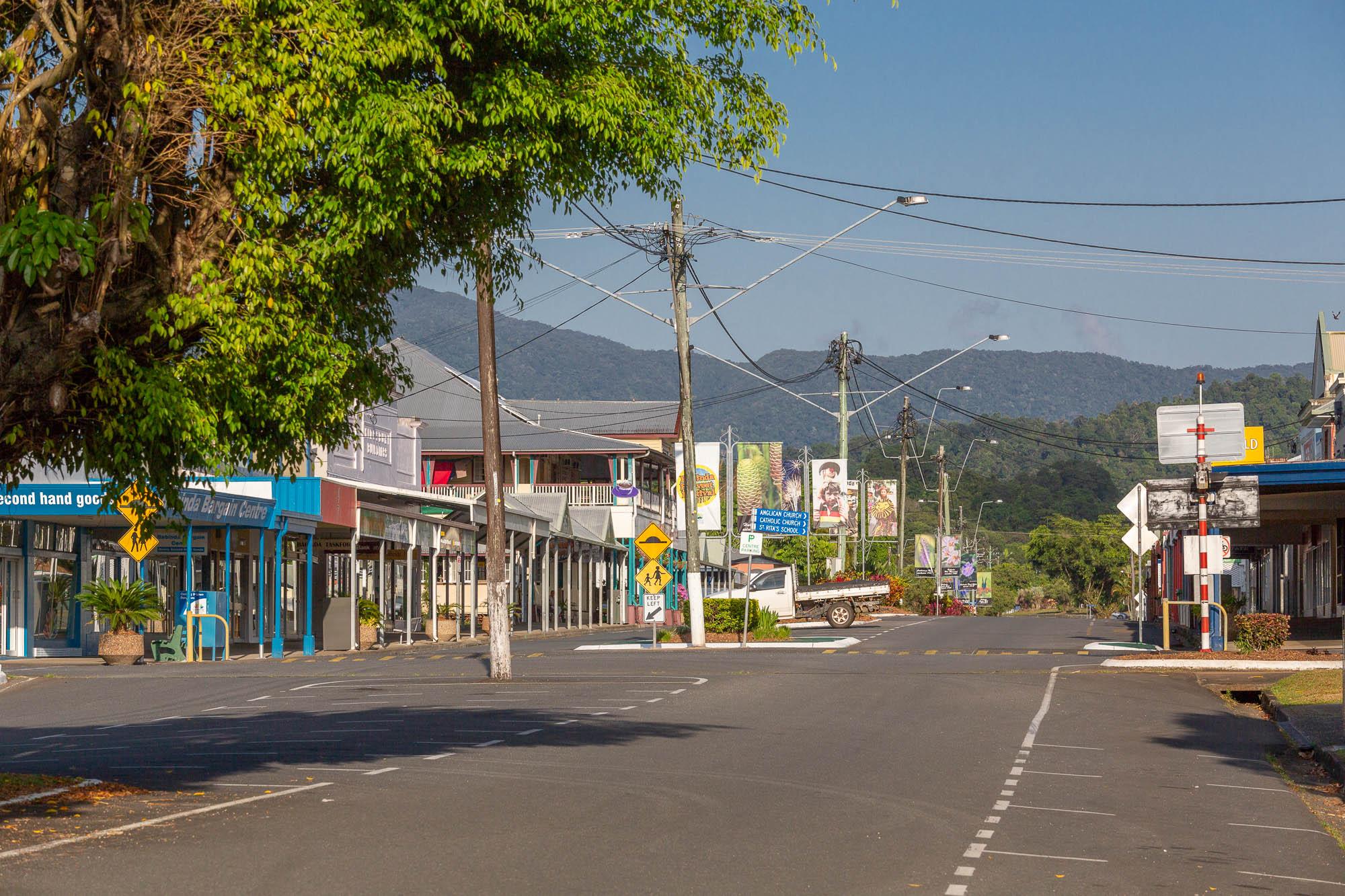 Babinda town center