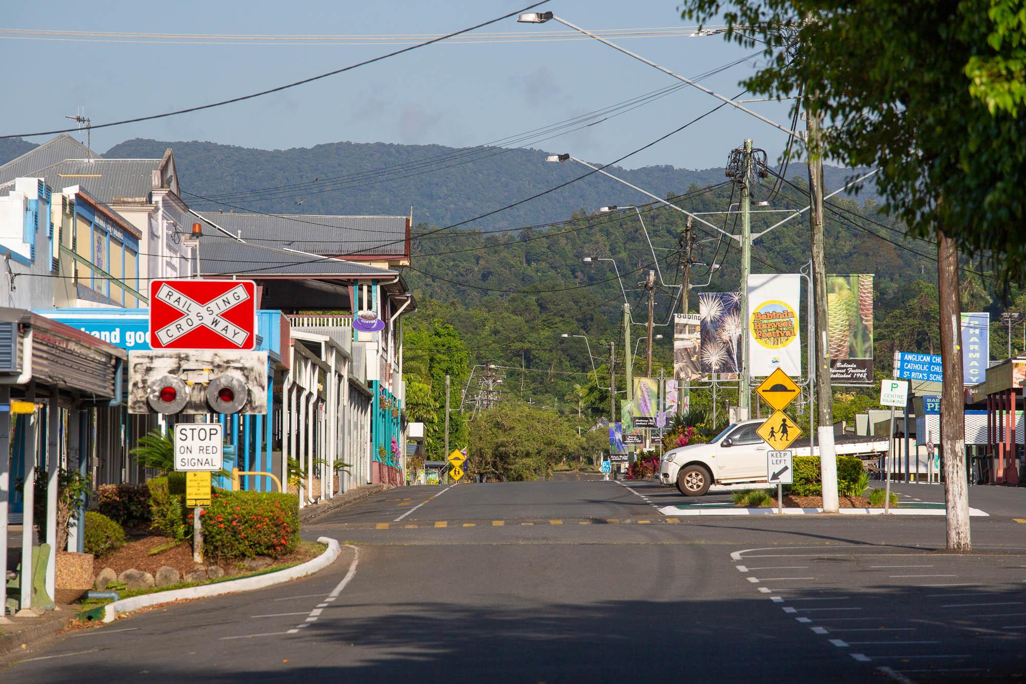 Babinda main street